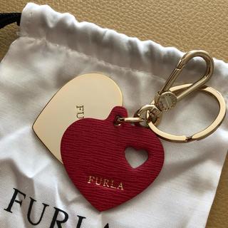 フルラ(Furla)のFURLA キーホルダー レッド(キーホルダー)