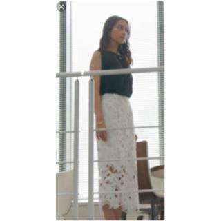 フレイアイディー(FRAY I.D)の武井咲ちゃん着用衣装FRAY I.D ケミカルレースロングスカート 1(ロングスカート)