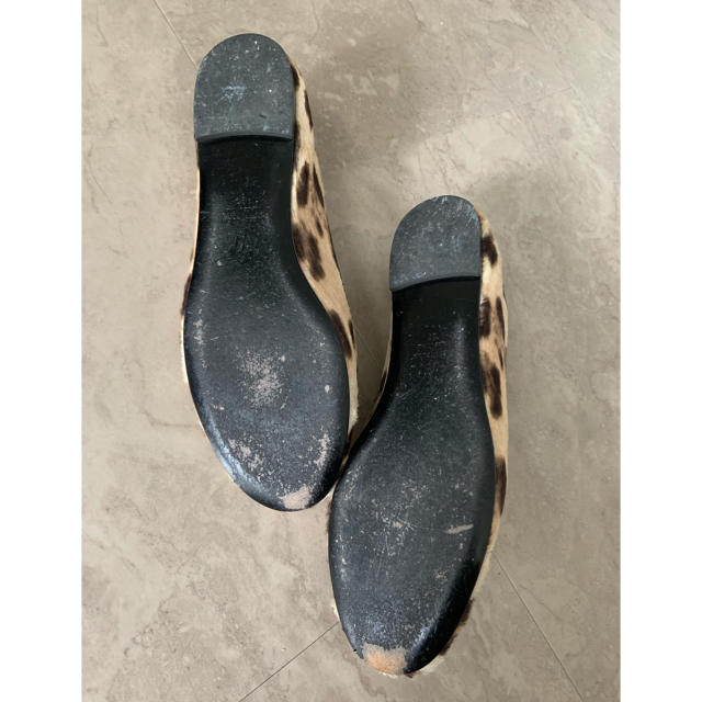 GIUZEPPE ZANOTTI(ジュゼッペザノッティ)のジュゼッペザノッティ  フラットシューズ 37 レディースの靴/シューズ(バレエシューズ)の商品写真