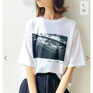 イエナ(IENA)の【専用】イエナ paris photo Tシャツ ホワイトC(Tシャツ(半袖/袖なし))