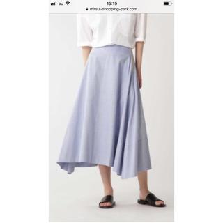 マディソンブルー(MADISONBLUE)のマディソンブルー  オックス ミモレ フレアスカート(ロングスカート)