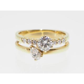 【計0.868Cts UPダイヤモンド】リング【サイズ直し無料】(リング(指輪))