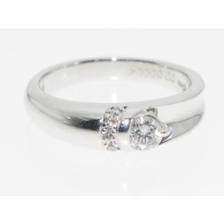 【鑑別書】0.24ctダイヤモンドリング【保証書】サイズ直し無料(リング(指輪))