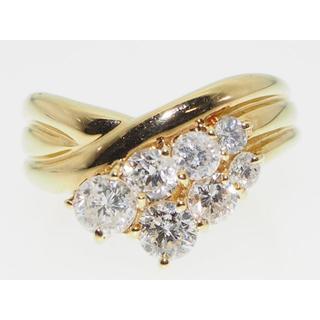 【鑑別書】1.11ctsダイヤモンドリング【保証書】サイズ直し無料(リング(指輪))
