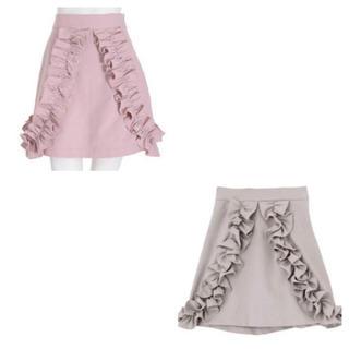 メリージェニー(merry jenny)のフリルミニスカート2色SET♥(ミニスカート)