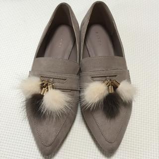 ランダ(RANDA)のRANDA  ファー付き ローファー(ローファー/革靴)