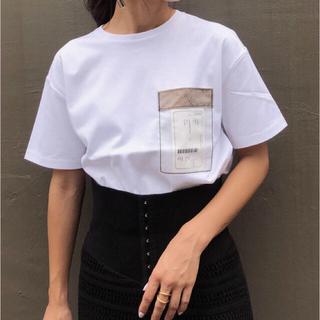 アメリヴィンテージ(Ameri VINTAGE)のTAG POCKET TEE(Tシャツ(半袖/袖なし))
