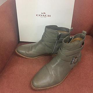 コーチ(COACH)のエンセナダ様   COACH ショートブーツ  23.5cm(ブーツ)