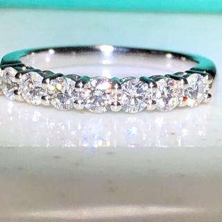 ティファニー(Tiffany & Co.)のみどり様専用!美品 ティファニー エンブレイス シェアドプロング リング!(リング(指輪))
