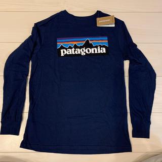 パタゴニア(patagonia)のPatagoniaパタゴニア キッズMロングスリーブ ロンT(Tシャツ/カットソー)