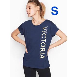 ヴィクトリアズシークレット(Victoria's Secret)のヴィクトリアシークレットスポーツ Tシャツ S【新品】【即日発送】(Tシャツ(半袖/袖なし))