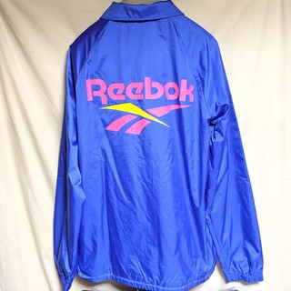 リーボック(Reebok)のリーボック ナイロンコーチジャケット(ナイロンジャケット)