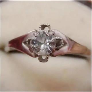 即購入OK♡V051昭和レトロシルバーカラーリングヴィンテージ指輪(リング(指輪))