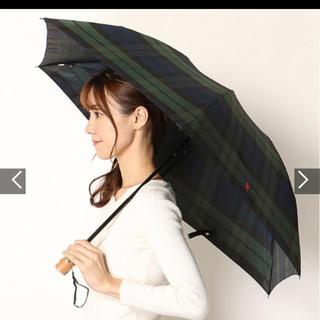 ポロラルフローレン(POLO RALPH LAUREN)のPOLO RALPH LAUREN ポロラルフローレン 折りたたみ傘 チェック柄(傘)