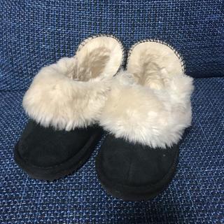 プティマイン(petit main)のファーブーツ(ブーツ)