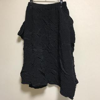 ファンキーフルーツ(FUNKY FRUIT)のファンキーフルーツ  ドラッグハニー   シワ加工変形スカート(ロングスカート)