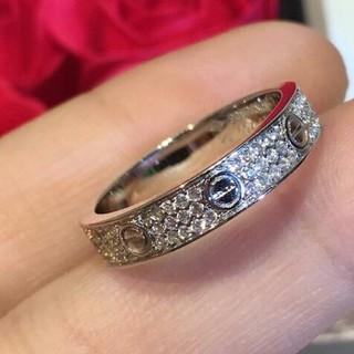 カルティエ(Cartier)の極美品 Cartier リング(指輪) シルバー 正規品 (リング(指輪))
