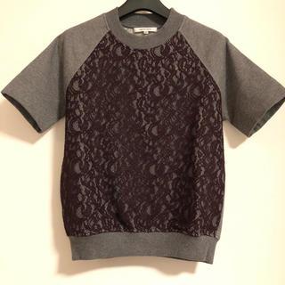 カルヴェン(CARVEN)のCARVEN 刺繍半袖トップス(カットソー(半袖/袖なし))