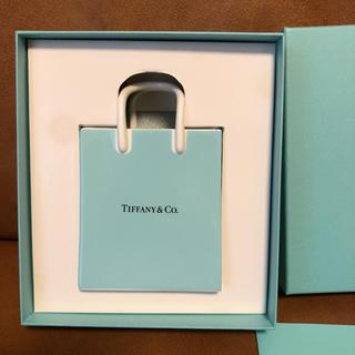 ティファニー(Tiffany & Co.)のティファニーショッピングバッグ型置物(花瓶)