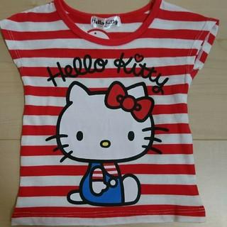 しまむら - キッズTシャツ☆キティちゃん☆80サイズ