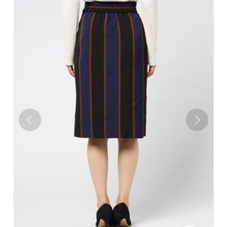 デイシー(deicy)のDEICY ストライプタイトスカート(ひざ丈スカート)