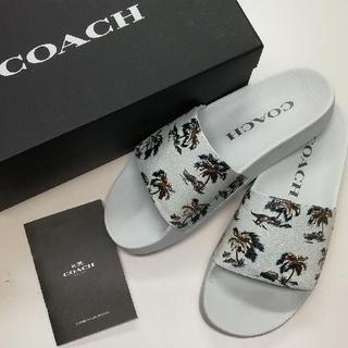 コーチ(COACH)の【COACH★G3535】コーチ 百貨店商品♪ メンズ サンダル 新品BOX付き(サンダル)