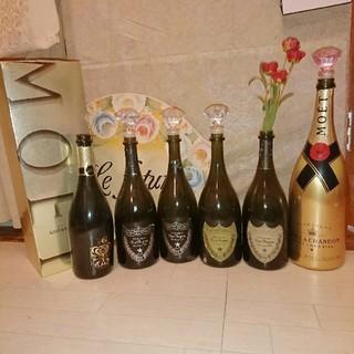 ドンペリニヨン(Dom Pérignon)の10/21まで限定★3000→ドン・ペリニヨン & モエ マグナム6本セット (シャンパン/スパークリングワイン)