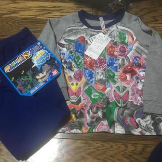 バンダイ(BANDAI)の新品★仮面ライダージオウ 光るパジャマ 長袖 100(パジャマ)