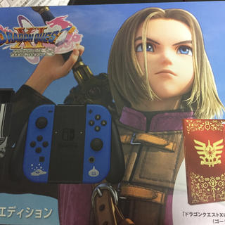 ニンテンドースイッチ(Nintendo Switch)のNintendo Switch ドラゴンクエストXI S ロトエディション2台(家庭用ゲーム機本体)