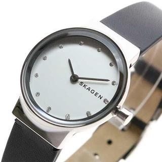 スカーゲン(SKAGEN)のスカーゲン 腕時計SKW2668 クォーツ ホワイト ブラック(腕時計)