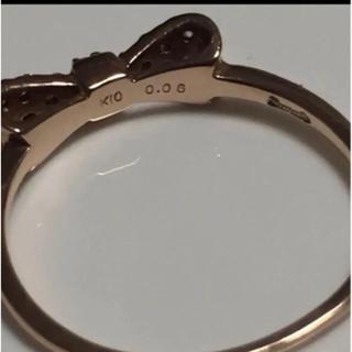 K10 スカラベ ピンキーリング(リング(指輪))