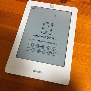 ラクテン(Rakuten)のRakuten kobo 電子書籍リーダー 型番N905B(電子ブックリーダー)
