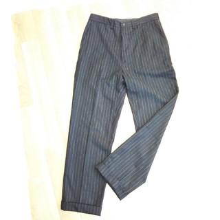 ラルフローレン(Ralph Lauren)のラルフローレン//RRL/黒ストライプのパンツ(スラックス)
