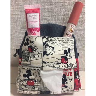 Disney - ミッキー リュック型ポーチ