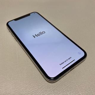 アイフォーン(iPhone)のiPhoneXS 256GB シルバー SIMフリー 本体(スマートフォン本体)