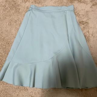 トッコ(tocco)のtocco closet グリーンフレアスカート(ひざ丈スカート)