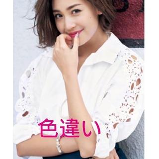 チェスティ(Chesty)のChesty 💖 Lace Sleeve Shirts(シャツ/ブラウス(長袖/七分))