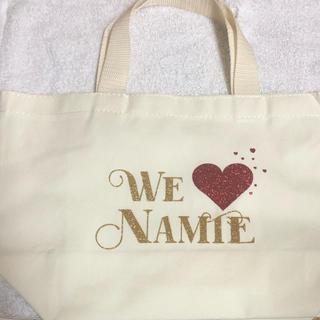 安室奈美恵 オリジナルトートバッグ(ミュージシャン)