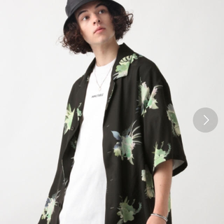 ハレ(HARE)のHARE アートトロピカルビックカイキンシャツ(シャツ/ブラウス(半袖/袖なし))