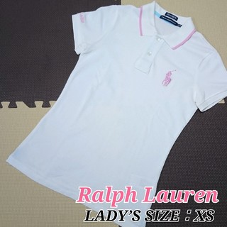 ポロラルフローレン(POLO RALPH LAUREN)のラルフローレン レディース半袖ポロシャツ 可愛いラウンドウェア 小さいサイズ(ウエア)