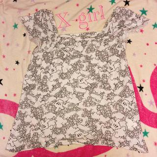エックスガール(X-girl)のX-girl ミッキー コラボ  Tシャツ(Tシャツ(半袖/袖なし))