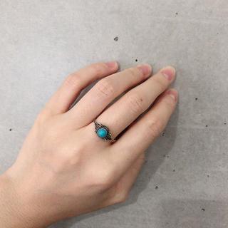 ターコイズ リング 指輪(リング(指輪))