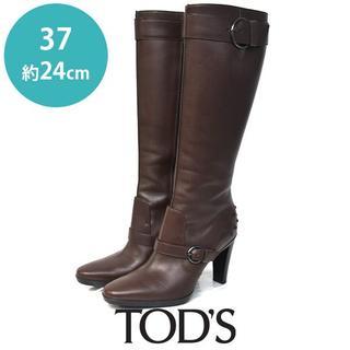 トッズ(TOD'S)のほぼ新品❤️トッズ ベルト ロングブーツ 37(約24cm)(ブーツ)