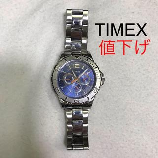 タイメックス(TIMEX)の値下げタイメックス ウォッチ クロノグラフ 金属ベルト(腕時計(アナログ))