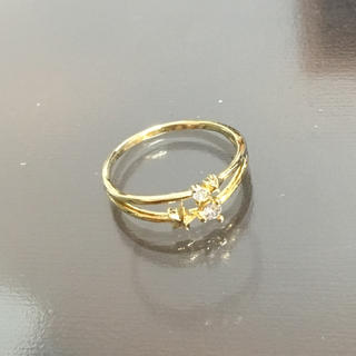 フィービィー(phoebe)の極美品♡Phoebe2連風ピンキーリング4号(リング(指輪))