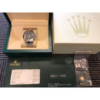 ロレックス(ROLEX)のロレックス デイトナ 116520 黒 最終 鏡面 美品 Rolex 国内正規(腕時計(アナログ))