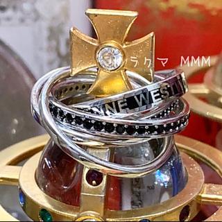 ヴィヴィアンウエストウッド(Vivienne Westwood)のDUSTIN リング/S/silver925/5連リング/再出品(リング(指輪))