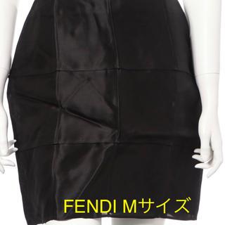フェンディ(FENDI)の【FENDI】フェンディ シルクスカート サイズM(ミニスカート)