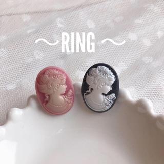 ~カメオ風リング~(リング(指輪))