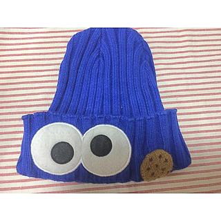 SESAME STREET - USJ クッキーモンスター(セサミストリート)ニット帽